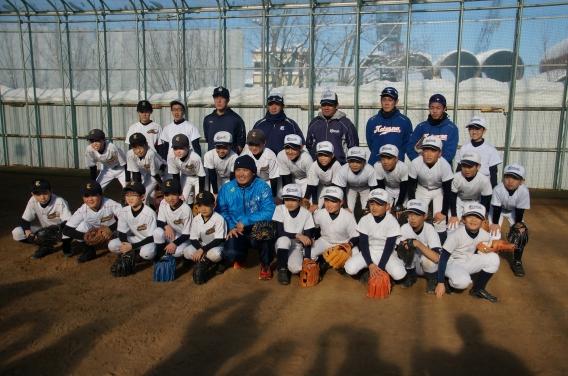 坪井智哉氏による野球教室