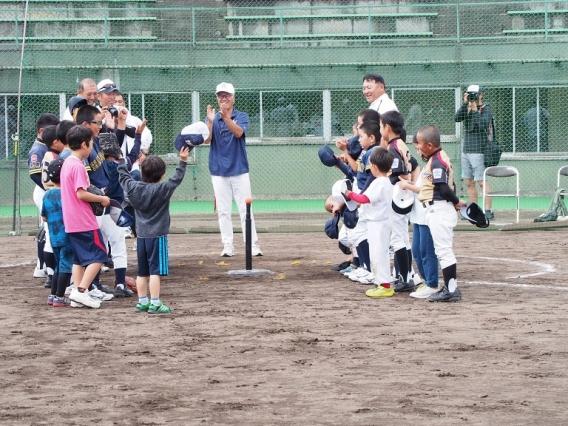 リトルリーグ北海道連盟体験会終了